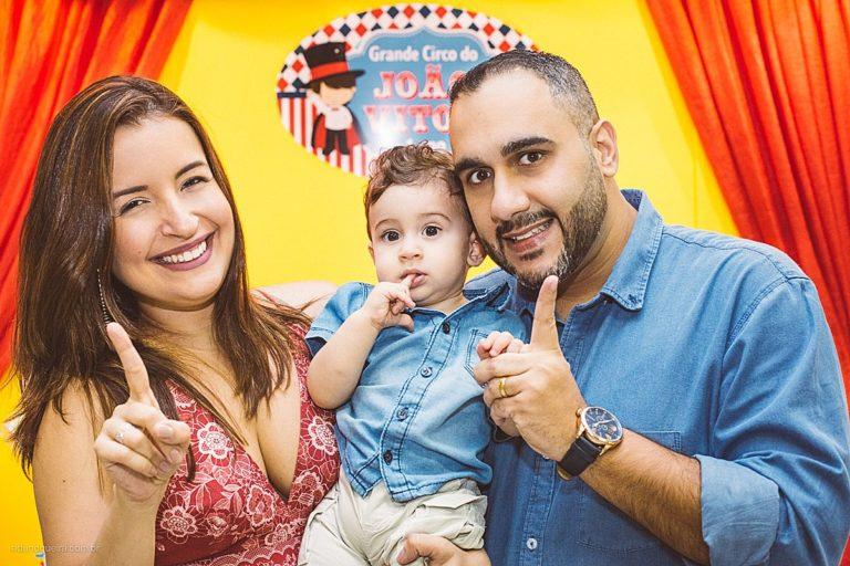 Aniversário Infantil de 1 ano do João registrado pelo fotógrafo RJ Edu Nogueira realizado na casa de festa Tik Tak