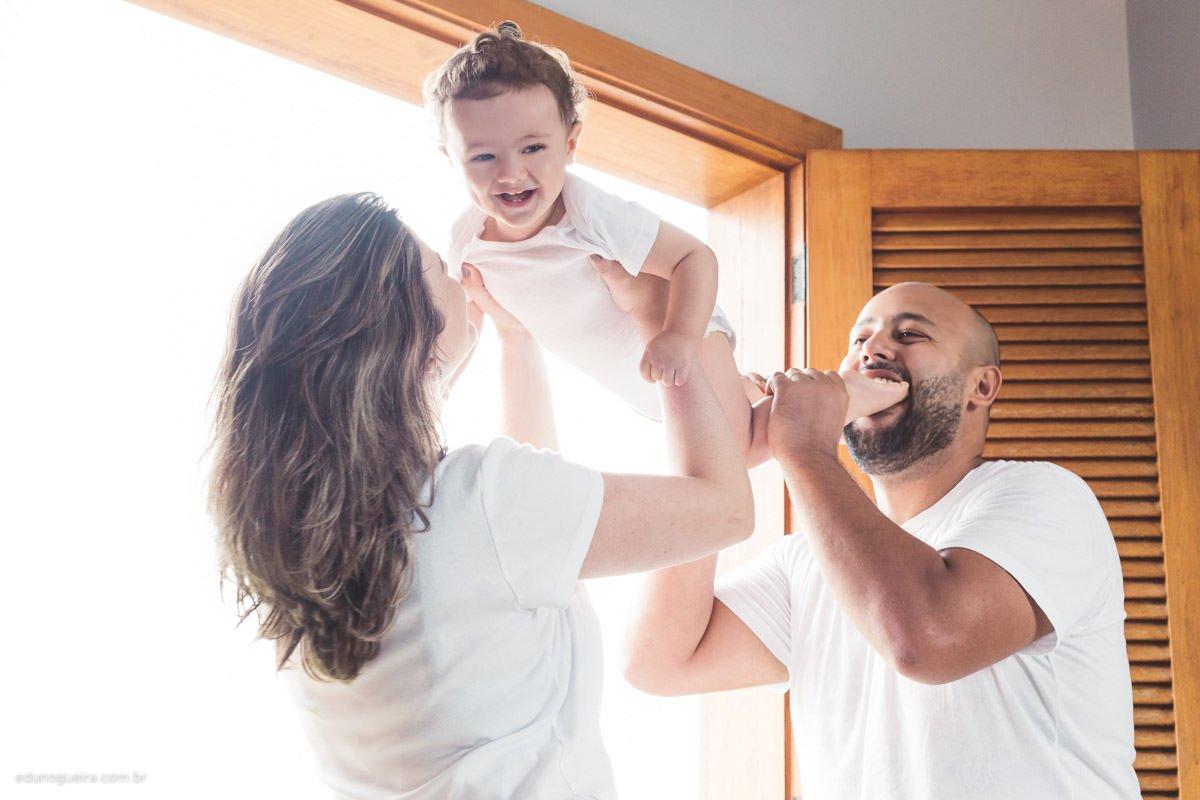 Ensaio de Família Williana, Marlus e João