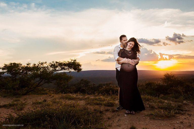Ensaio de gestante, registrado pelo fotógrafo de família Edu Nogueira, tem como objetivo mostrar cada sentimento vivido nesse dia.