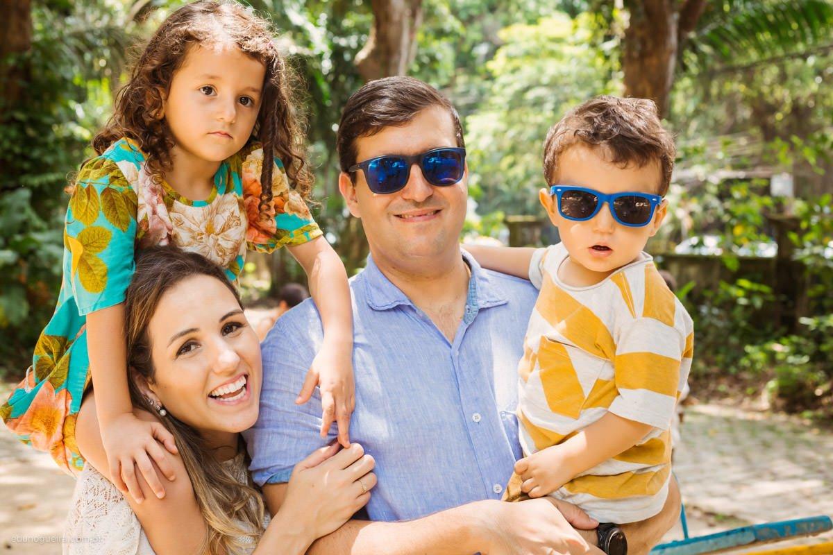 Ana, Jair, Eduarda e Leonardo