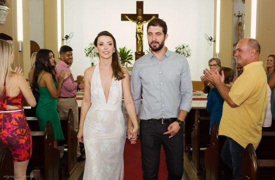 Casamento em Leopoldina - Sarah e Diegoh - Igreja de São Sebastião