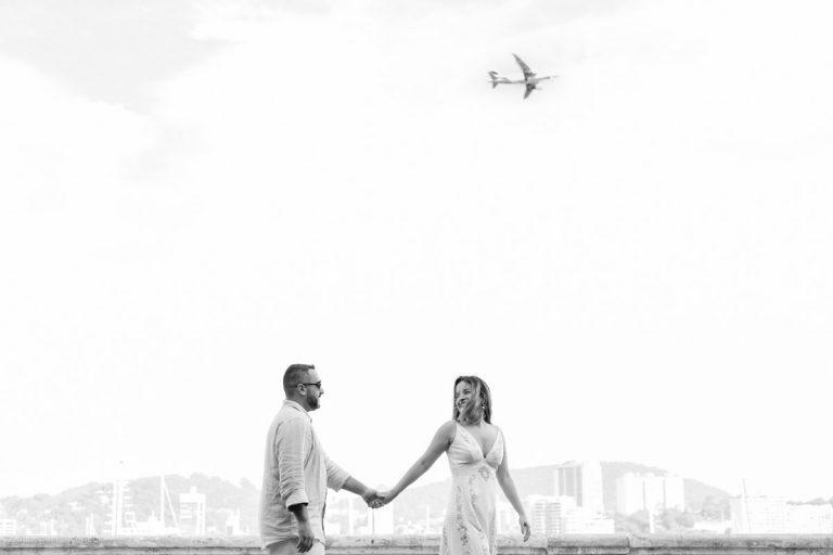 Fernanda e João - Ensaio pré-wedding no Rio de Janeiro registrado pelo fotógrafo de casamento rj Edu Nogueira.